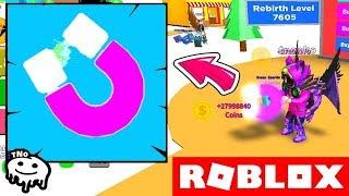 NEJLEPŠÍ REBIRTH MAGNET - Magnet Simulator! | Roblox | tNo CZ/SK