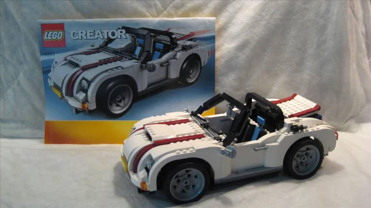 m4x 39 s creations building lego creator cool convertible. Black Bedroom Furniture Sets. Home Design Ideas