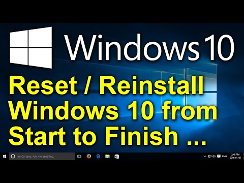 ✔️ How to Reset Windows 10 (2020) - Recovery, Restore, Reinstall, Reset This PC, Factory Settings