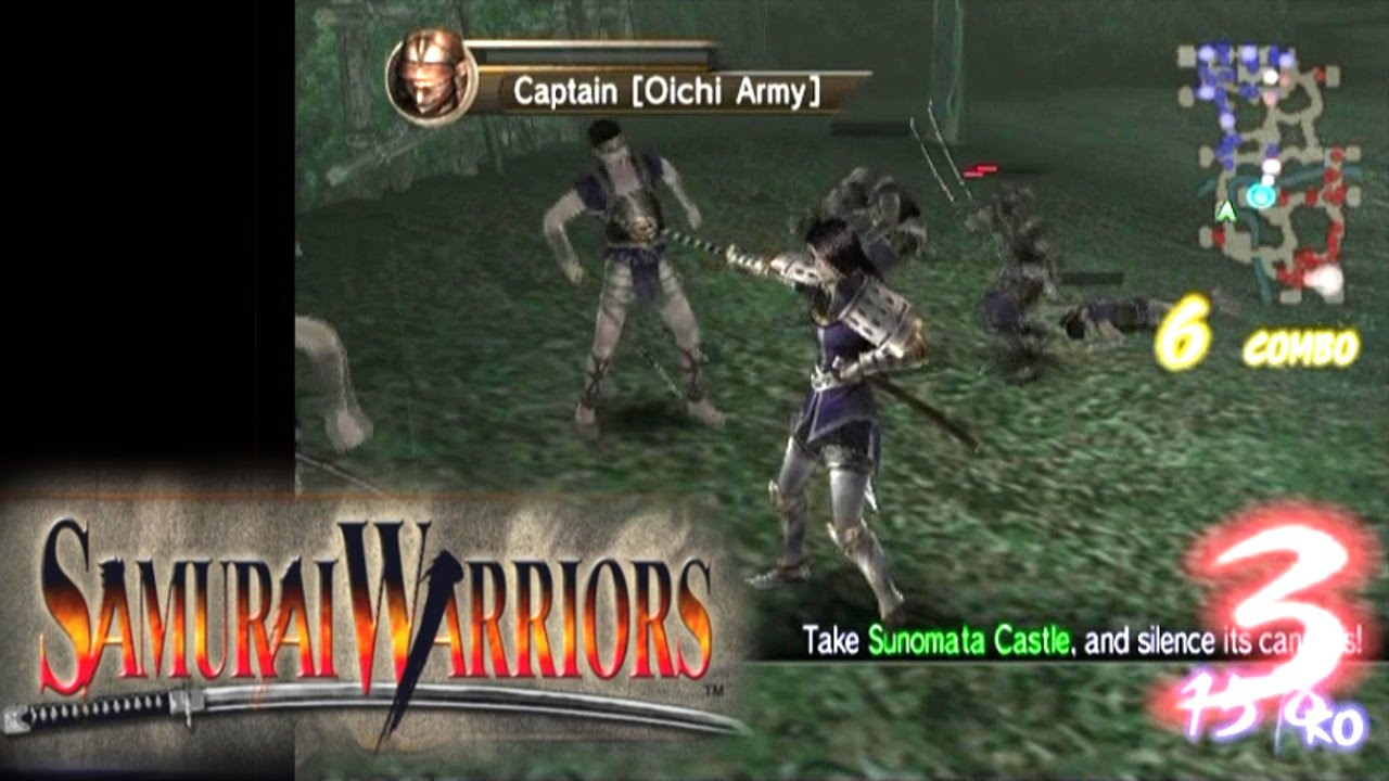 Samurai Warriors ... (PS2) - YouTube