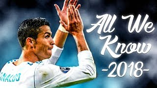 Cristiano ronaldo 2018 ► all we know  - skills, tricks & goals | 1080p hd