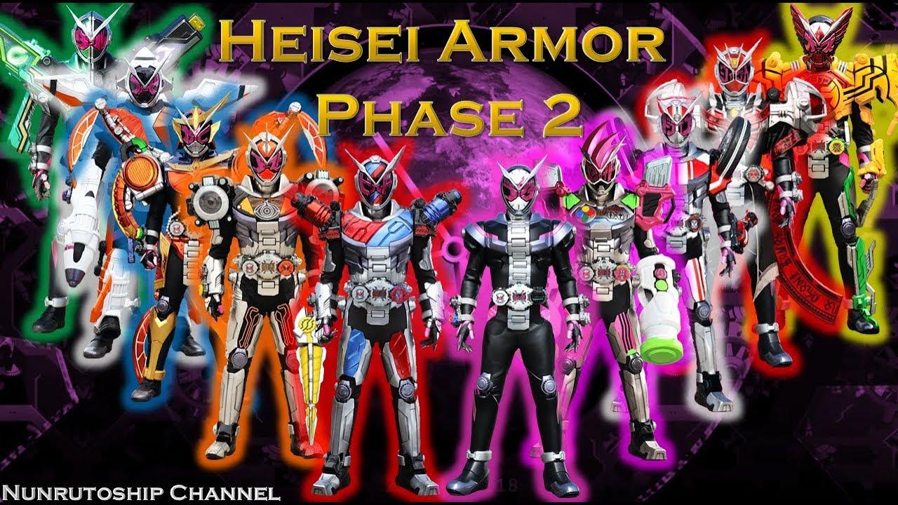 Kamen Rider Zi-O Heisei Armor Phase 2 ( W - Build Armor ) : Ridewatch &  Henshin