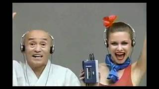 Nippon Retro | Iconic Sony Walkman in 1979 TV ad