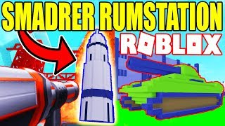 SMINGING SPACE STATION AND TANK-DESTRUCTION SIMULATOR-ENGLISH ROBLOX-EP 2