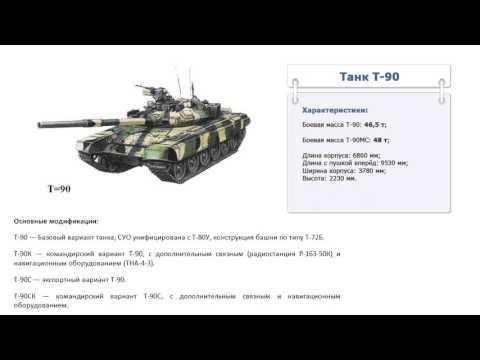 Сколько весит танк т-90