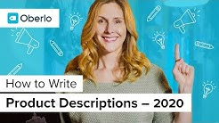How to Write Shopify Product Descriptions that Sell
