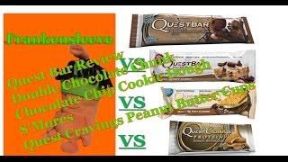 Quest Bar Review - Double Chocolate Chunk Vs Smores Vs Chocolate Chip Cookie Dough