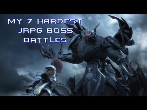 My Top 7 Hardest JRPG Boss Battles