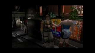 Resident Evil 3: Nemesis cutscenes - Exiting with Carlos (Restaurant