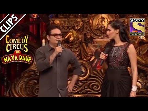 Vinay Pathak Gets Trolled By Neha Dhupia  Comedy Circus Ka Naya Daur