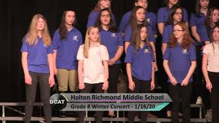 HRMS 8th Grade Winter Concert - 1/16/20