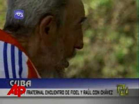 Cuban TV Shows New Images of Ailing Fidel Castro