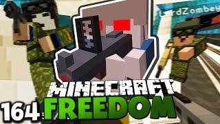 HERR BERGMANN DREHT DURCH! & FLUCHT IN DIE U-BAHN ✪ Minecraft FREEDOM #164 | Paluten