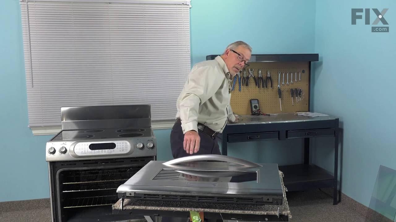 KitchenAid Range Repair U2013 How To Replace The Inner Door Glass   YouTube