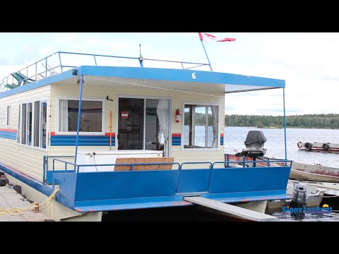 Sioux Lookout Floating Lodges 68ft Houseboat Tour