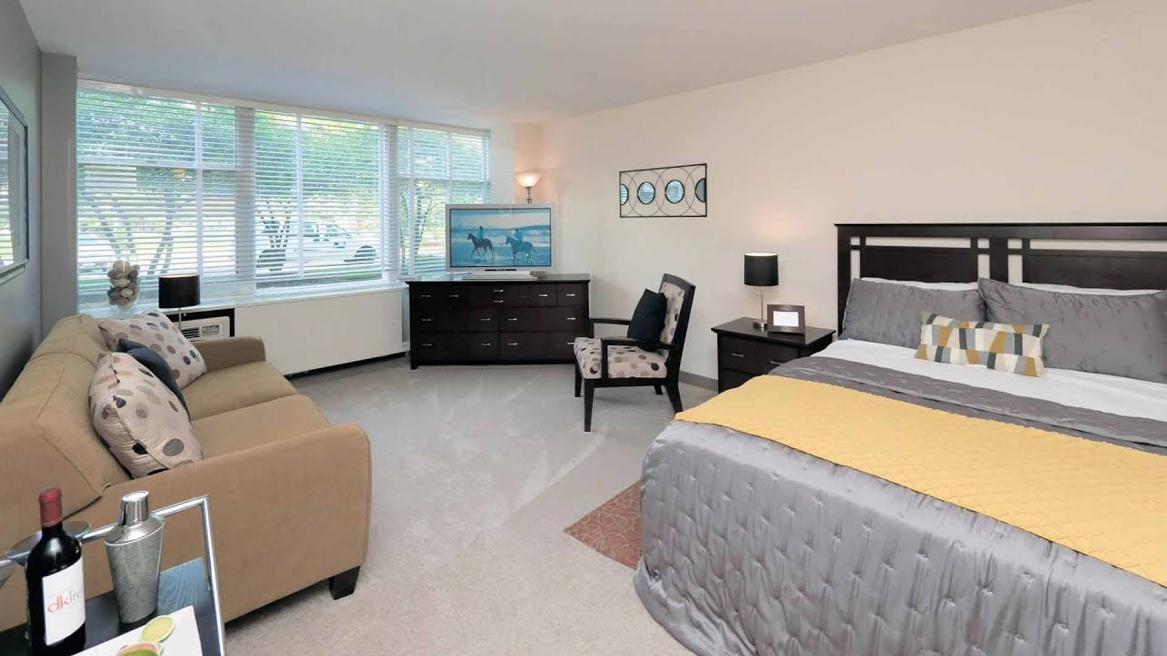 Tour a model studio apartment at conveniently located for Model studio apartments