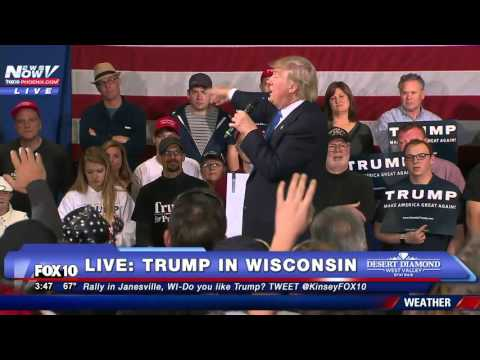 """Donald Trump Defends His Campaign Manager: """"I Have The Video. I'm Rich"""" - FNN"""
