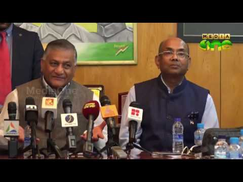 Minister V K Singh interacted with Indian Community in Kuwait