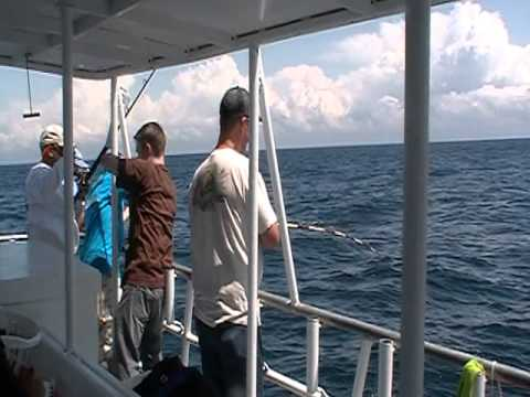 myrtle beach fishing with hurricane fleet youtube