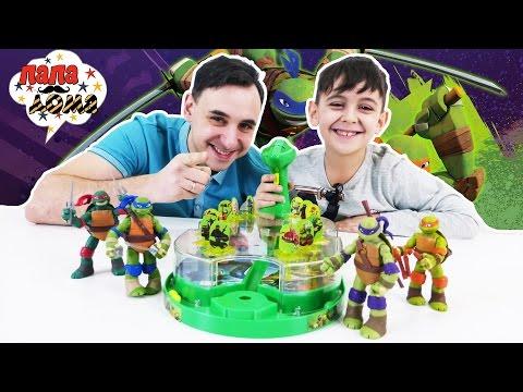 Черепашки Ниндзя Teenage Mutant Ninja Turtles Последняя Битва с Шредером