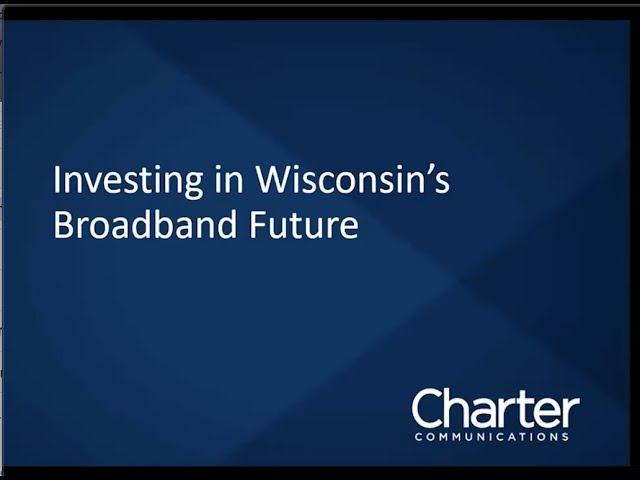 WCA Webinar: Broadband Expansion in Wisconsin featuring Charter Communications