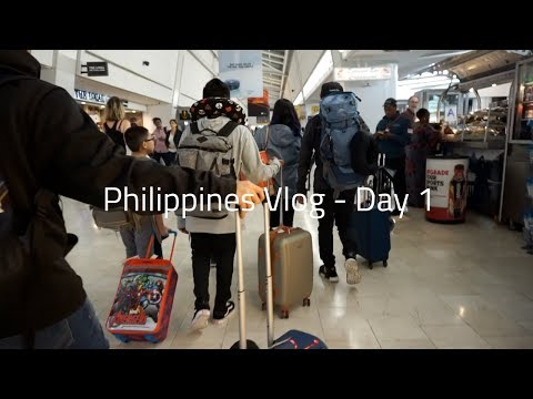 PHILIPPINES VLOG 2018 - Day 1 || 18+ Hour Flight, Aristocrat, FIRST TIME BACK HOME AFTER 12 YEARS
