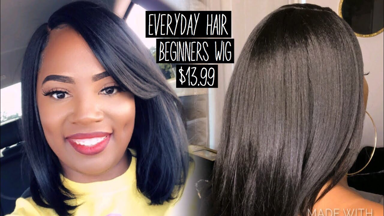 Perfect Everyday Wig for Beginners / Affirdable Slay / Freetress Equal Kalani/ glamourtress.com