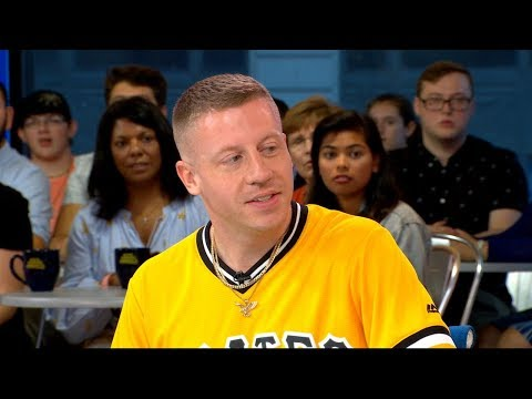 Macklemore on shooting a music video with...