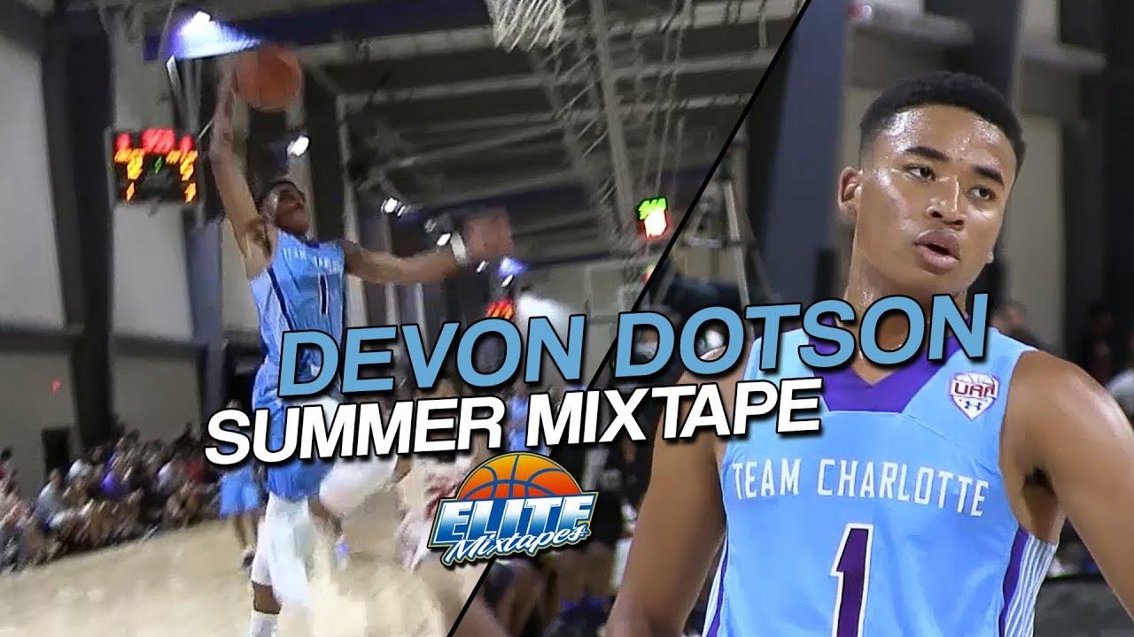 Devon Dotson Crazy Summer Mixtape Best Pg In 2018 Youtube