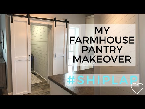farmhouse-style-pantry-makeover-|-before-and-after-pantry-renovation-|-shiplap-|-fixer-upper-style
