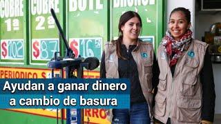 Mexicanas crean plataforma para vender y reciclar basura