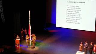 MALUKU TANAH AIRKU - LAGU KEBANGSAAN RMS 25 APRIL 2016 APELDOORN