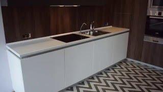 Кухня с матовыми фасадами из пластика отзыв Станислава
