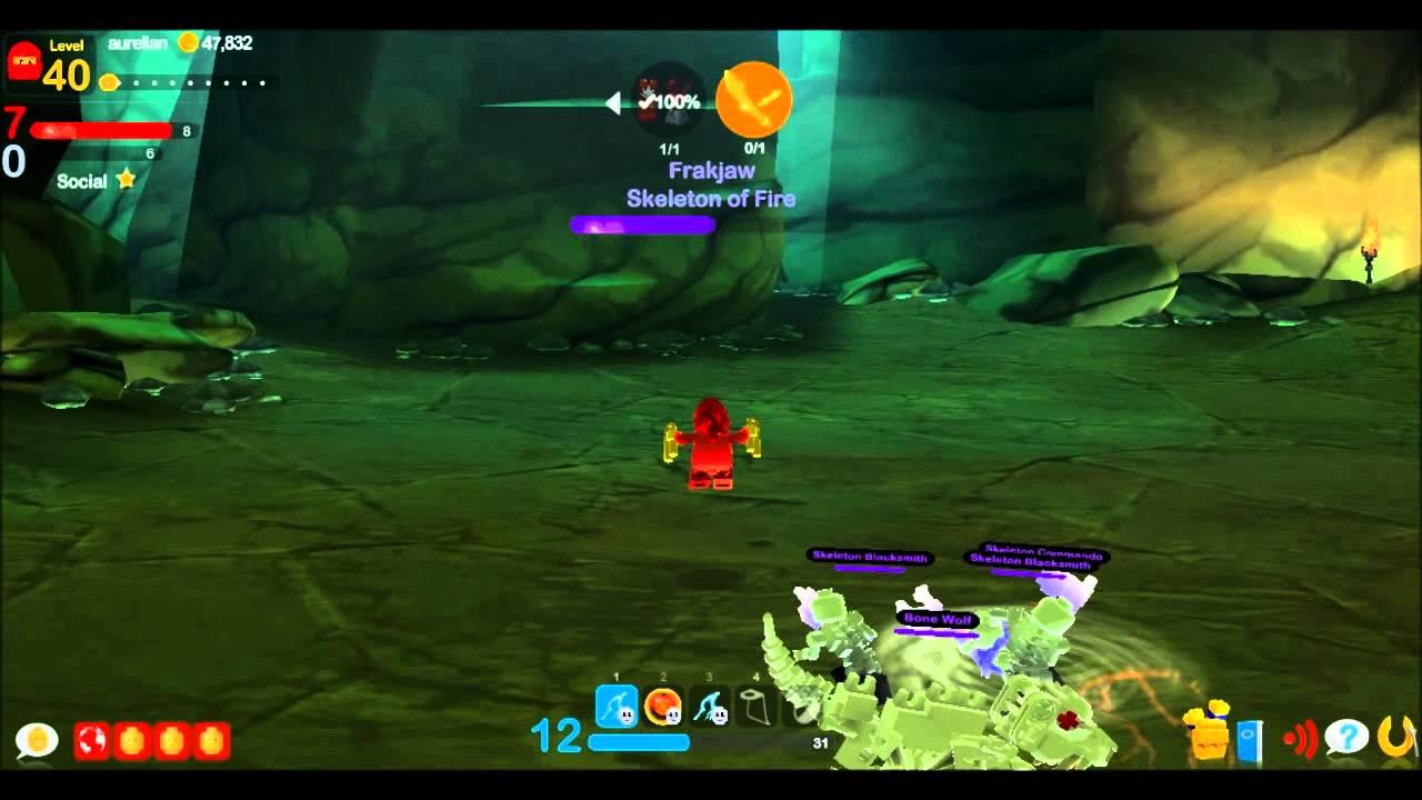 lego universe ninjago frakjaw battle