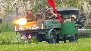 2. světová válka 1945 - WWII Reenactment - Bitva Brandýsek 2019