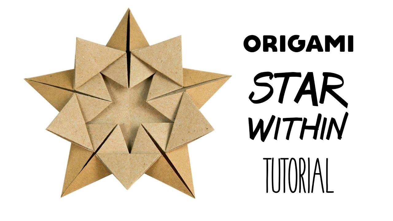 Easy Origami Star of David Folding Instructions | 720x1280