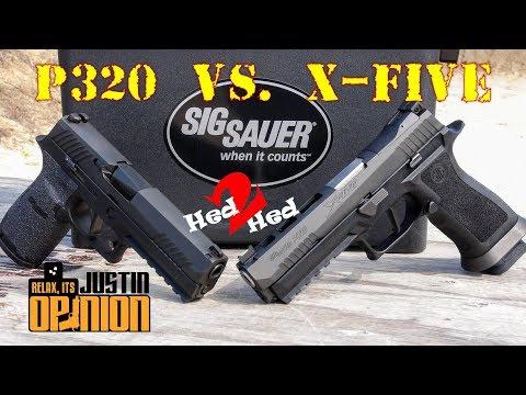 SIG Sauer's New X-Five vs. P320