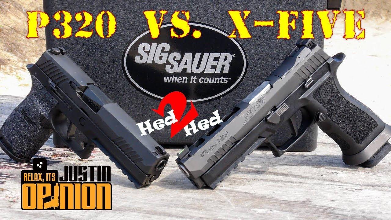 SIG Sauer's New X-Five vs  P320