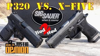 SIG Sauer's New X-Five vs. P320