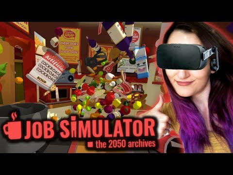 How To Be The Greatest MASTER CHEF Ever!! | Job Simulator VR #3