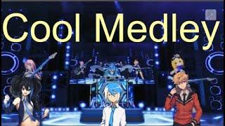 【Matsudappoiyo, Karasu Yuutsukoe, Ruko Yokune】Cool Medley ~Cyber Rock Jam~ [UTAU cover]