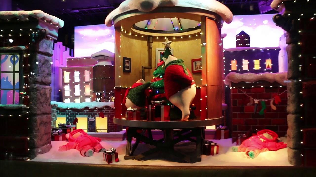 Macy\'s Christmas Windows 34th Street NYC 2017 - YouTube