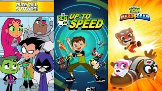 Ben 10 Up to Speed VS Teeny Titans 2 VS Talking Tom Hero Dash