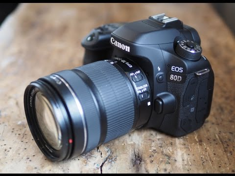 Canon EOS 80D review - interview with Gordon and Doug