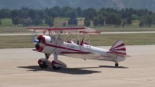 WOW GREAT AIR SHOW-2018 IN UTAH Яркое и красочное представление самолётов разных модификаций
