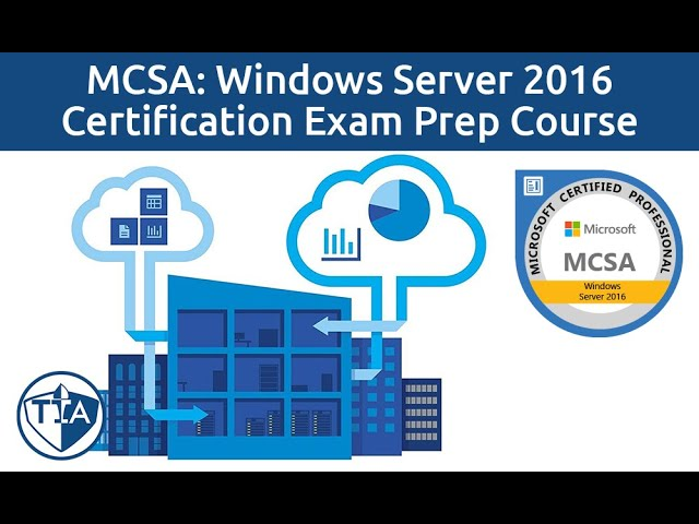 Windows Server 2016 Administration Full Course