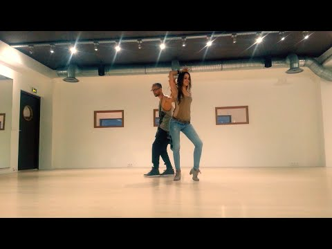 Kaem & Marine Kizomba - Training & Playing ( I See Fire Cover )