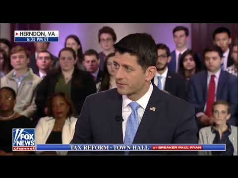 Speaker Ryan on Tax Cuts For Every Income Bracket