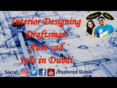 How to find a job | Top Interior Design Firms in Dubai | Interior Designer |Draftsman | AUTOCAD
