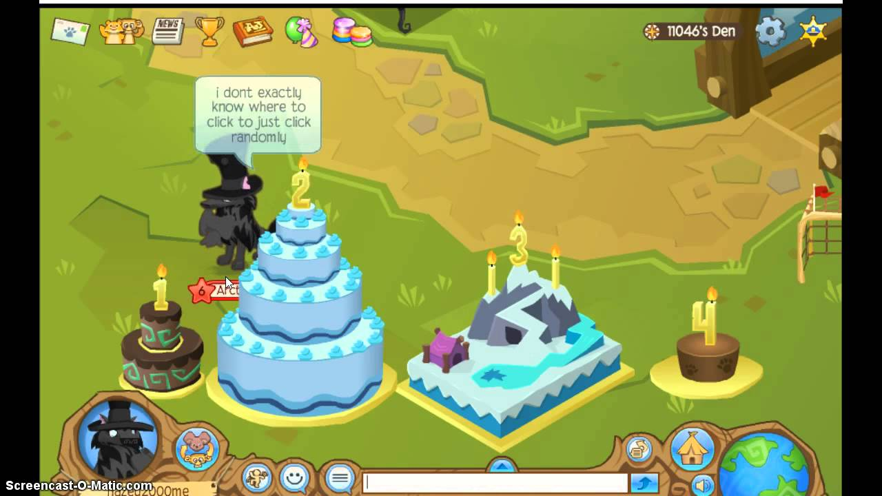 Where To Find All Animal Jam  Birthday Cakes